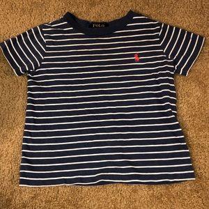 Toddler RL striped shirt